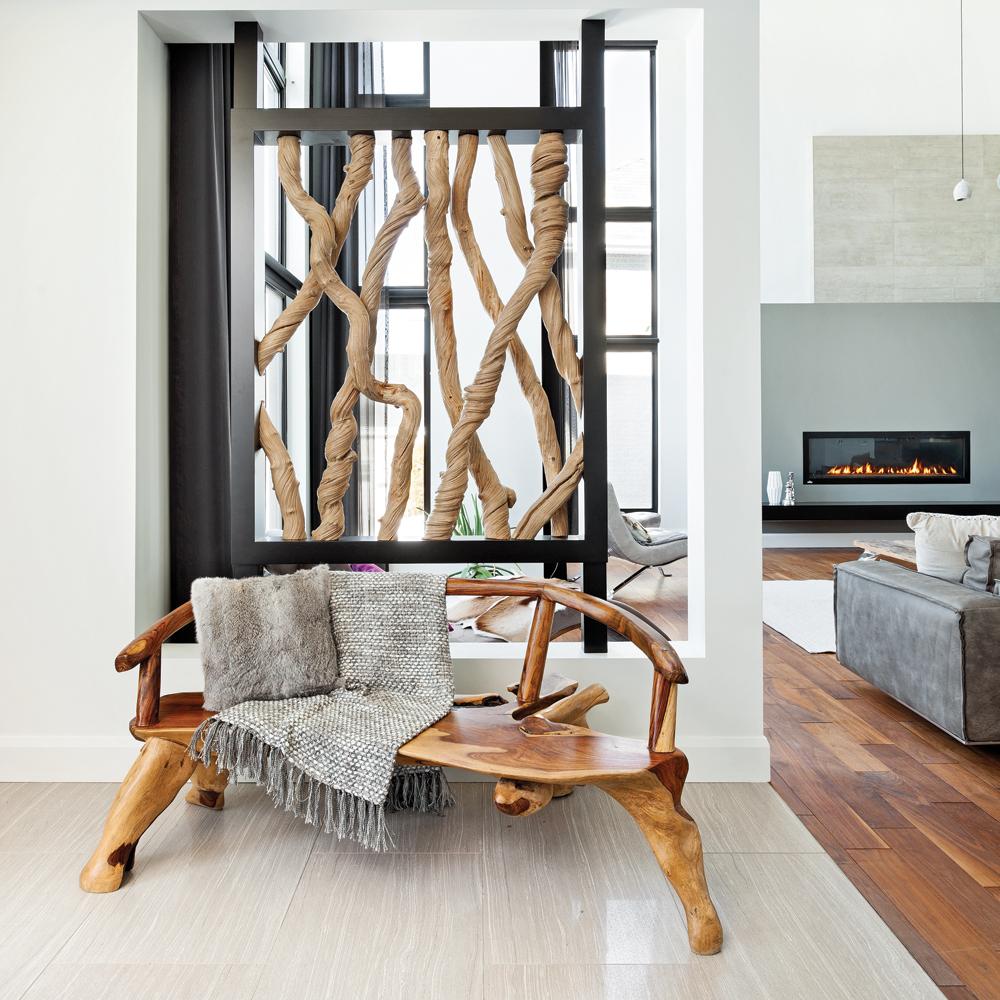 Hall D Entrée Moderne visite d'une maison moderne et grandiose - je décore