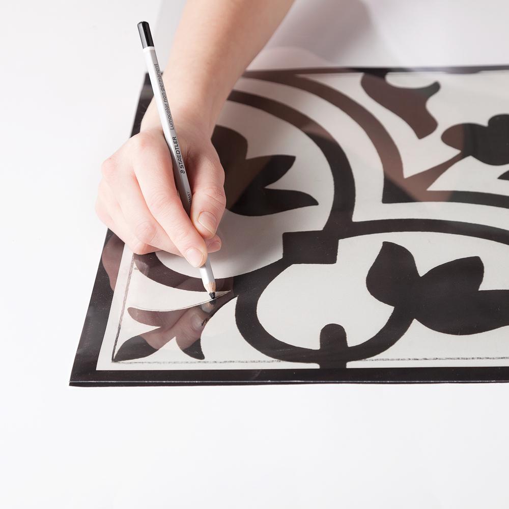 Papier A Peindre Motif comment peindre un motif sur la céramique - je décore