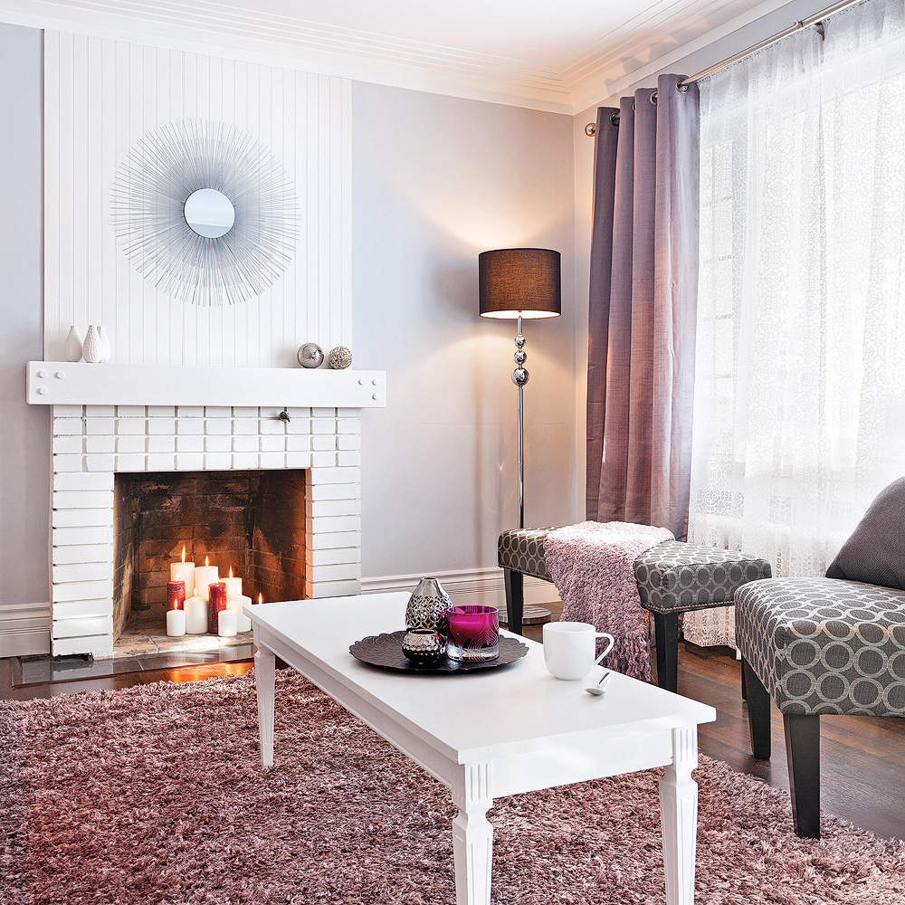 Deco Salon Violet Et Gris – Gamboahinestrosa