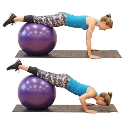 Haut 10 exercices à faire avec un ballon - Adulte - Santé - Santé et  LH01