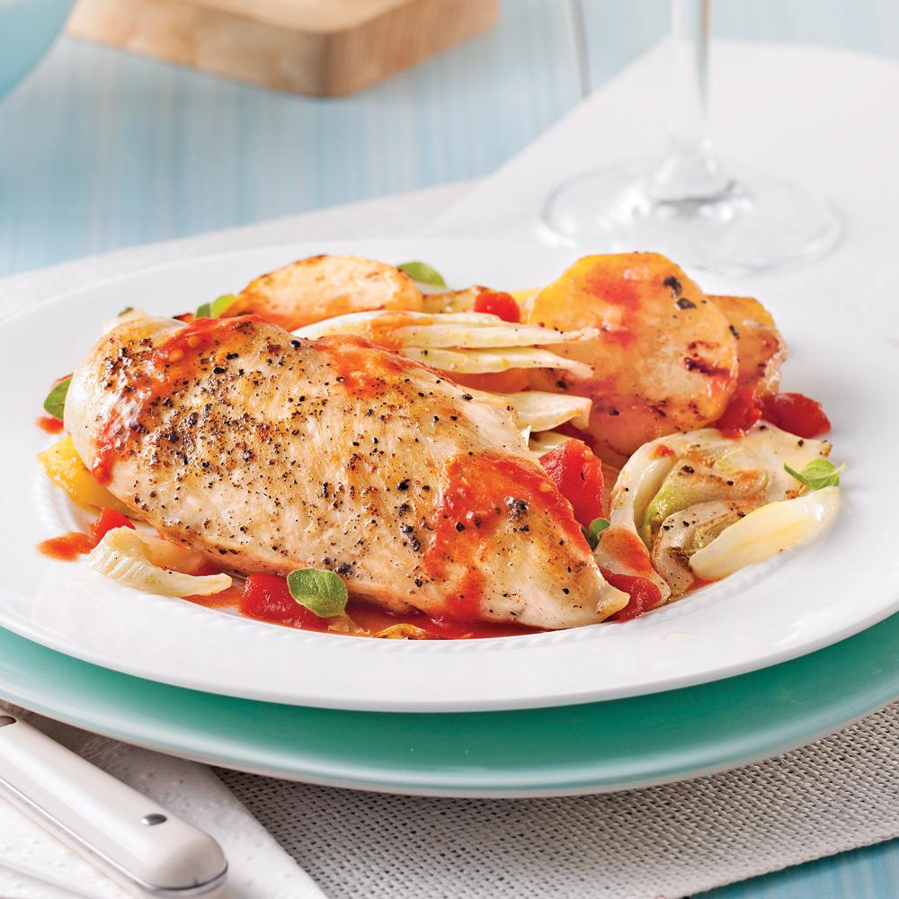 Recette poulet italienne